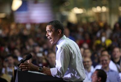 Manufacturing sector lost 575,000 during the Obama administration
