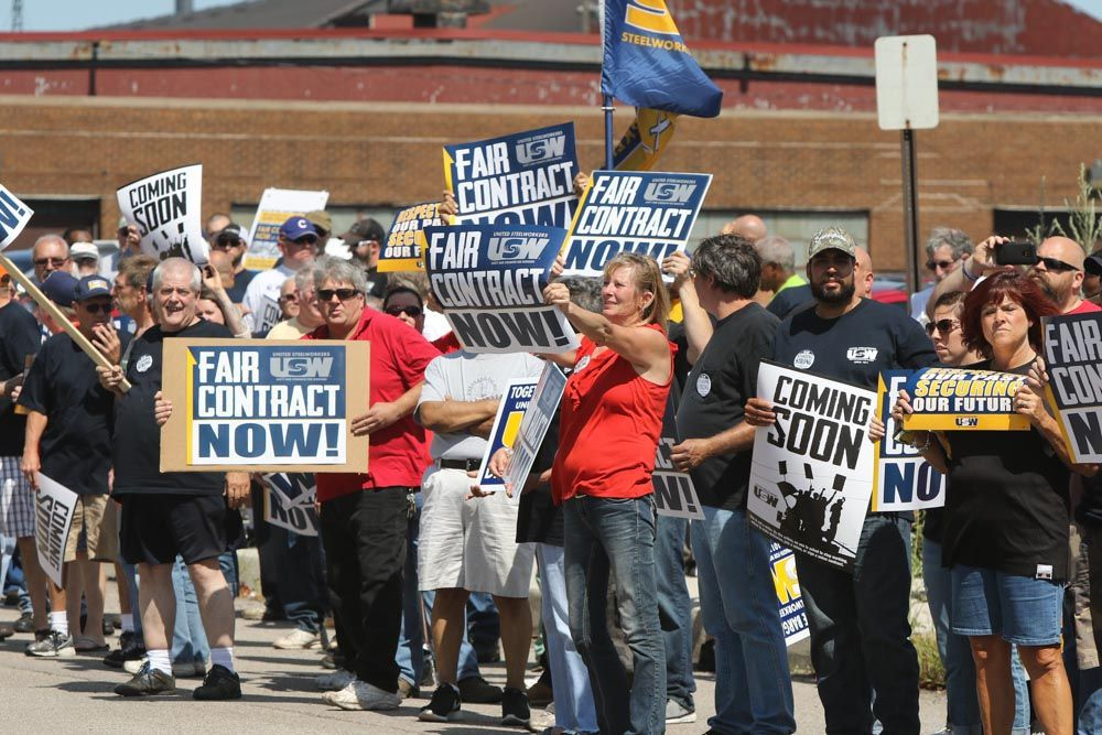 USW, ArcelorMittal trade offer, counter-offers
