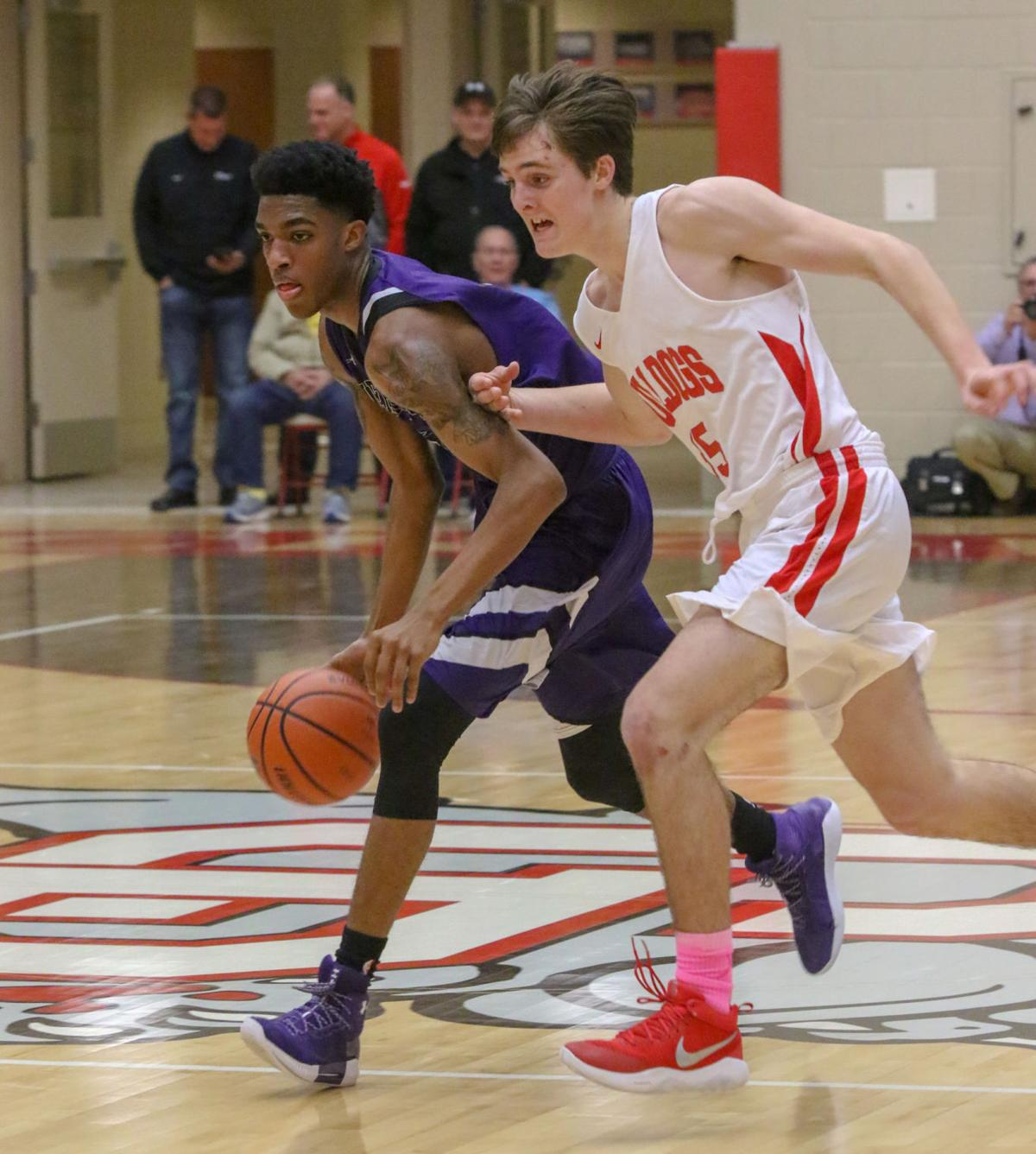Merrillville at Crown Point boys basketball