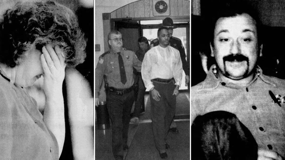 Andra Martin Naked serial killer previously convicted of murdering two hammond