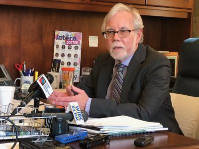 Senate Democratic Leader Tim Lanane
