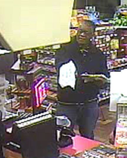 Hobart police search for donation jar theft suspect