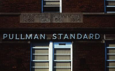 Pullman Standard sign
