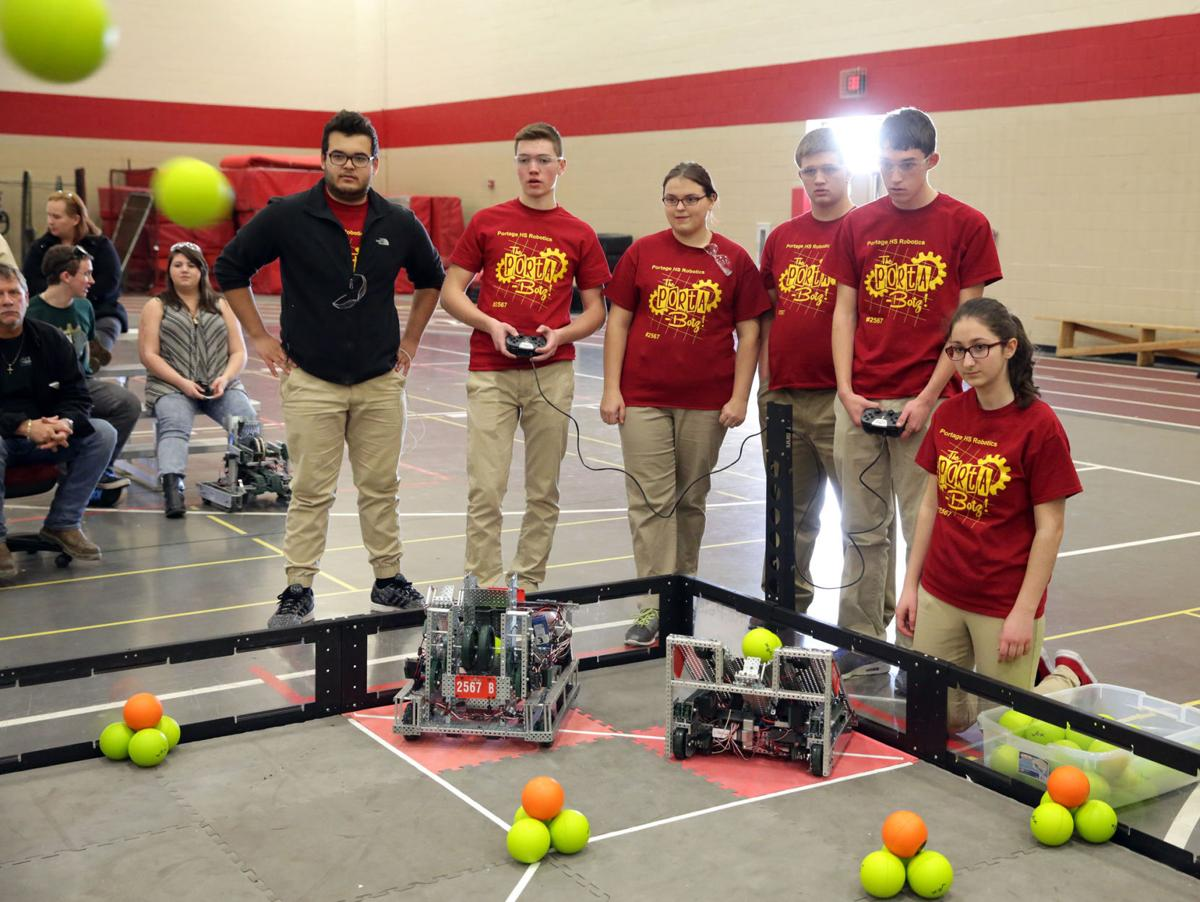 Students learn of life through robotics study