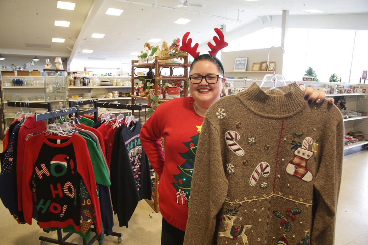 Glitzy and gaudy, the Christmas sweater makes a glam return | Local ...