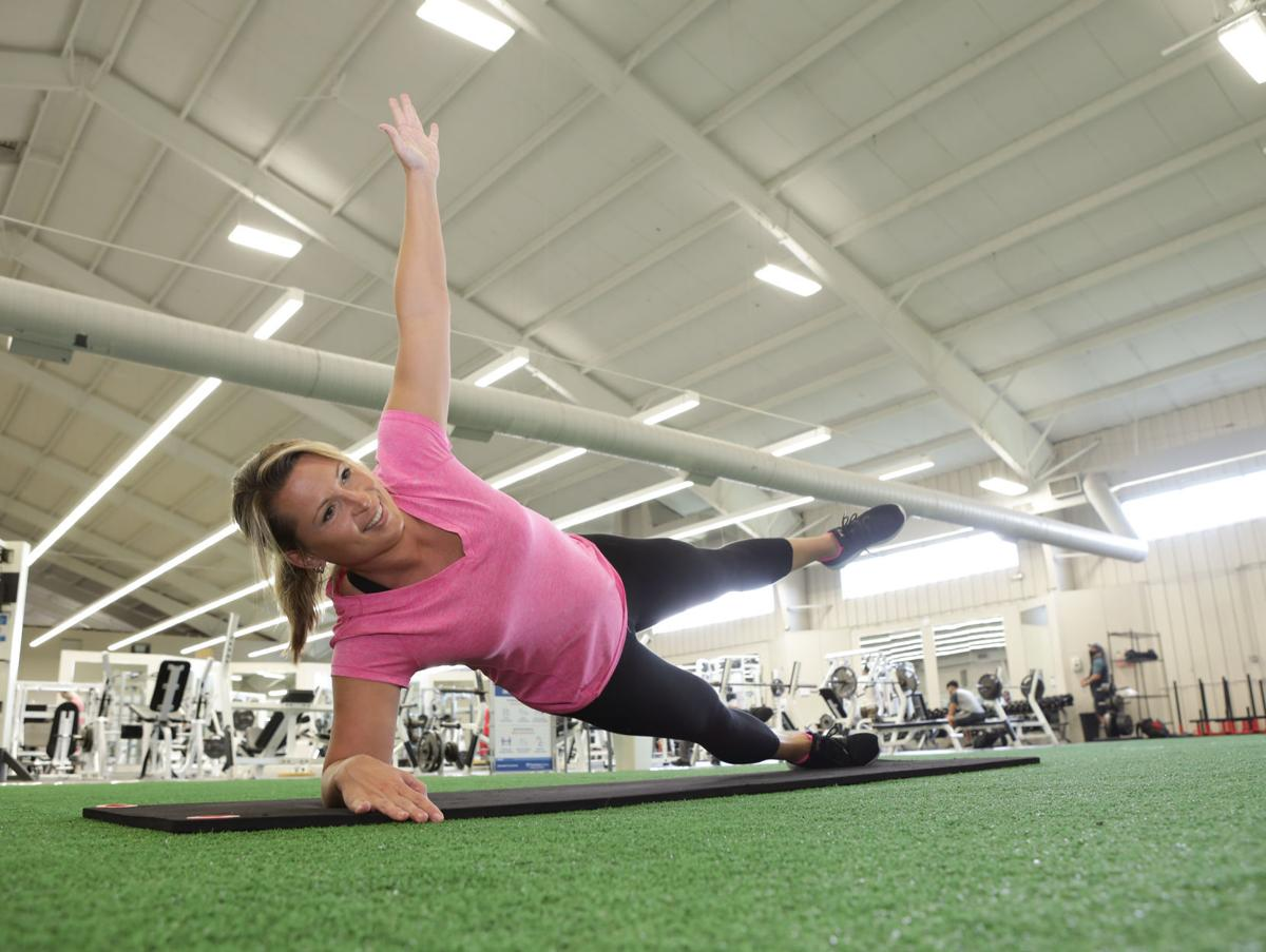 Isometric exercises build muscle with subtle, static movements