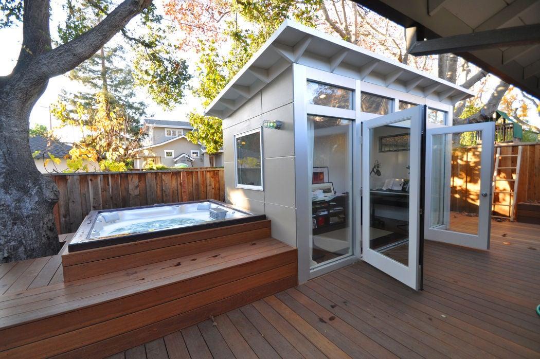 Backyard sheds reimagined as pubs, studios, getaways ...
