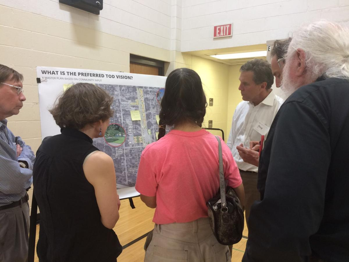 TOD planning open house