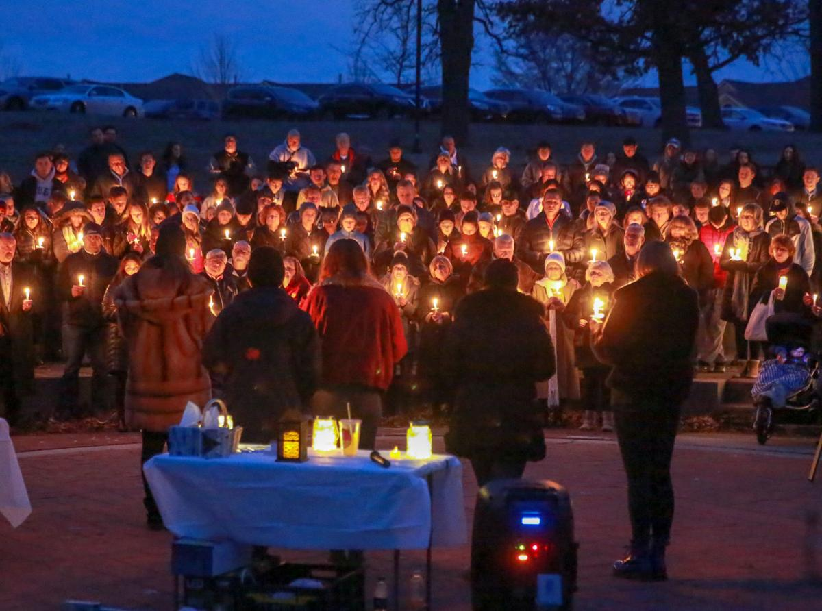 Vigil for Molley Lanham