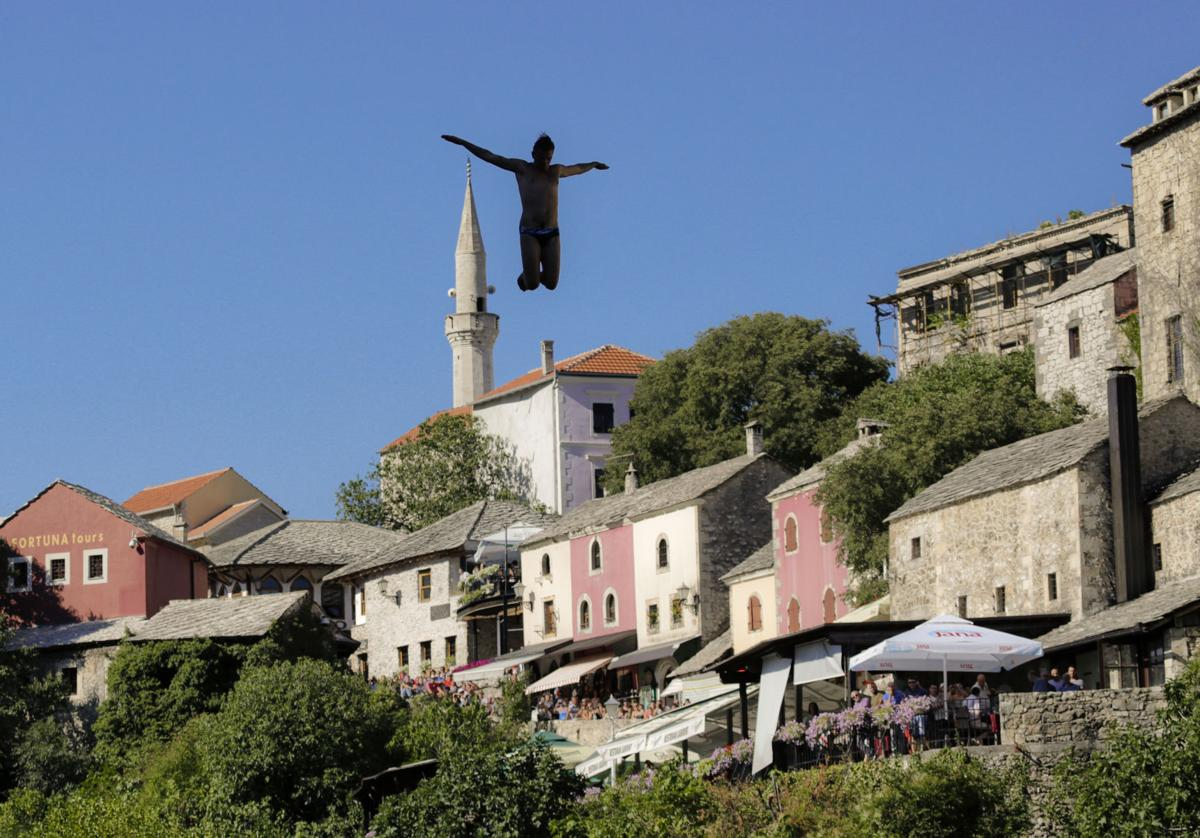 Bosnia High Diving Photo Gallery