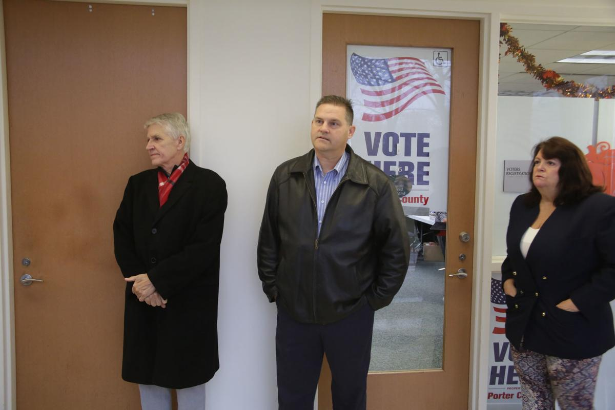 Porter County politicians call for election board president's resignation after after shouting match