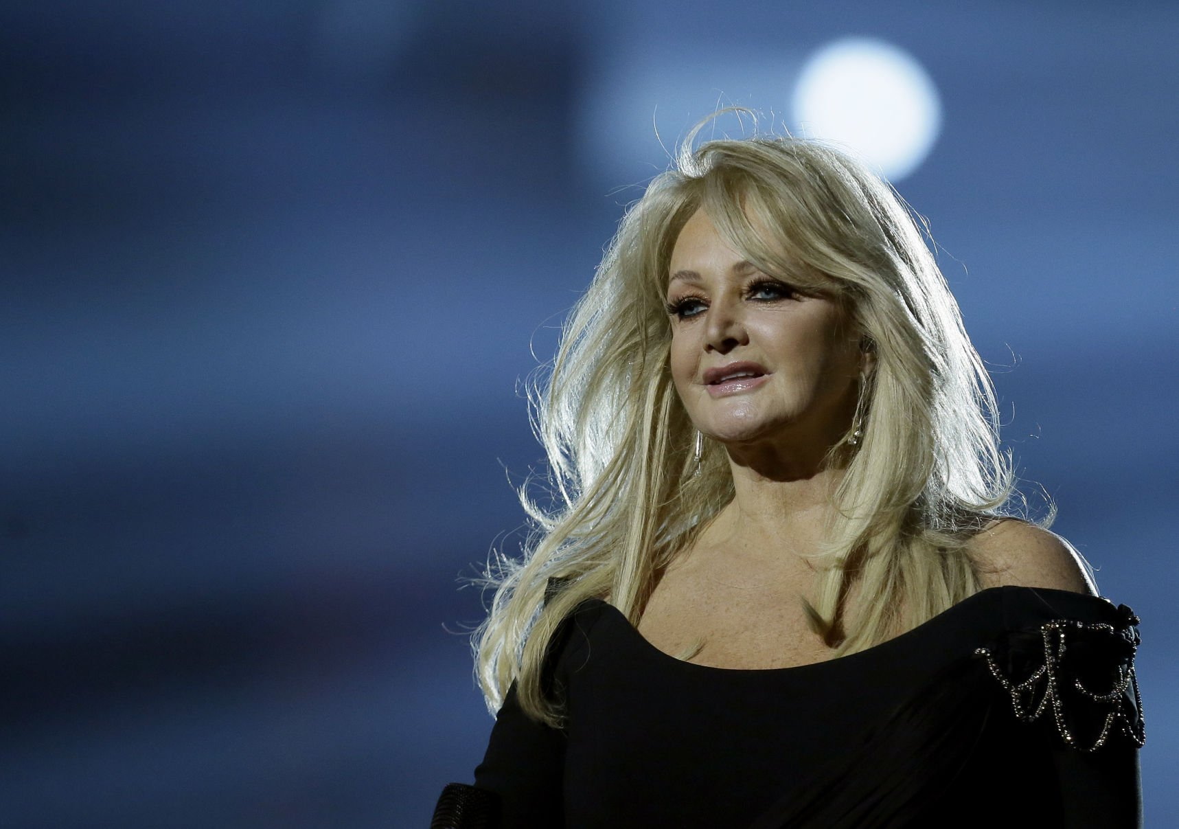 Bonnie Tyler's hit is soundtrack of historic solar eclipse
