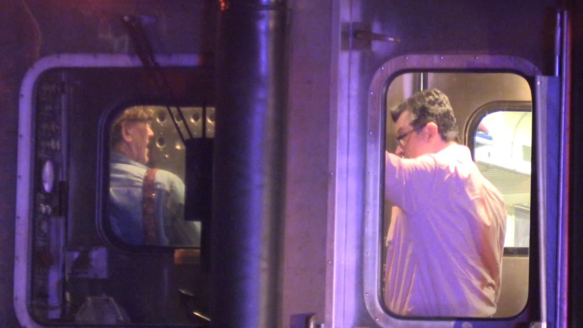 South Shore Train Strikes Vehicle in Gary