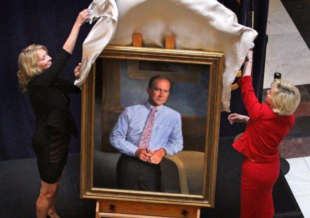 Portrait unveiled