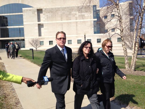 Soderquists arrive for start of trial on wire fraud charges