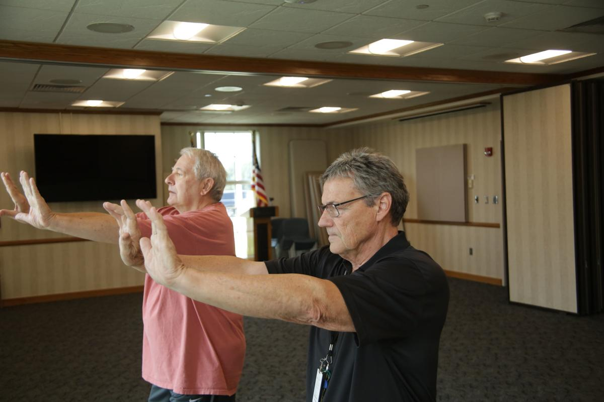 Fitness Pointe tai chi class builds strength, balance