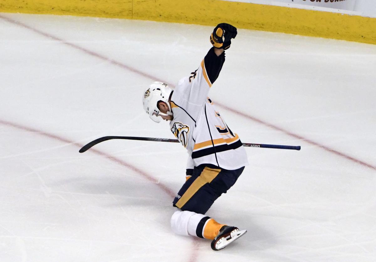 Predators Blackhawks Hockey