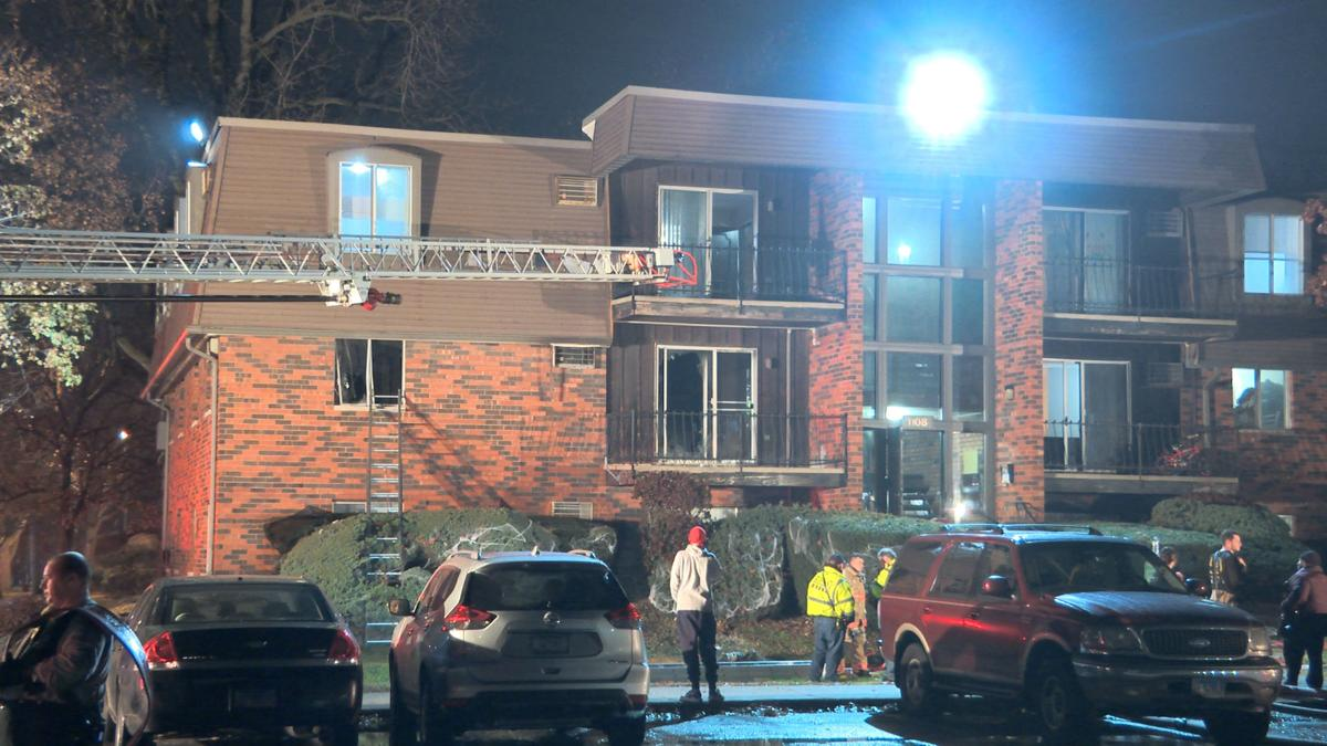 Several Rescued from apartment Building Fire