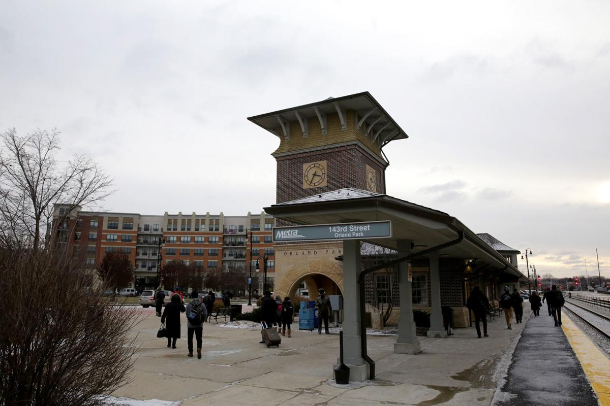 Orland Park Metra station