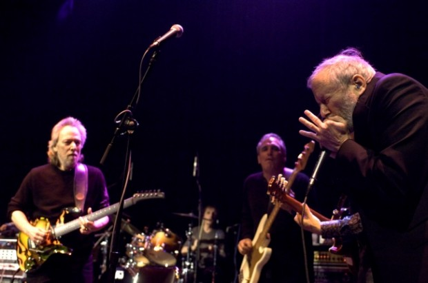 Graying whippersnappers reunite to honor Wolf, Waters at Bluesfest