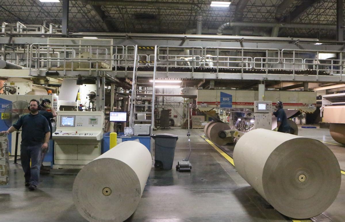 New Pratt Industries paper facility