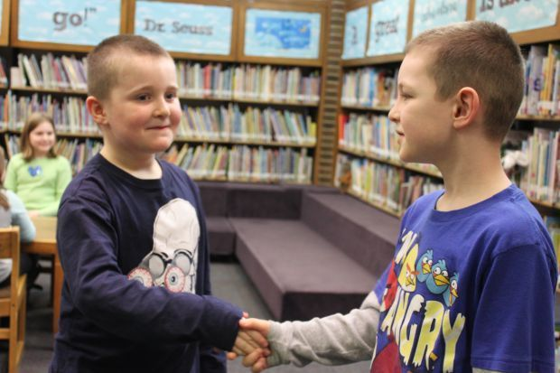 Mind Your Manners program at Westchester Public Library