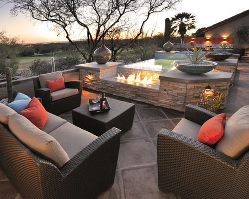 Delightful Patio At A Glance