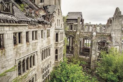 'Haunts' exhibit at South Shore Arts showcases architectural ruins