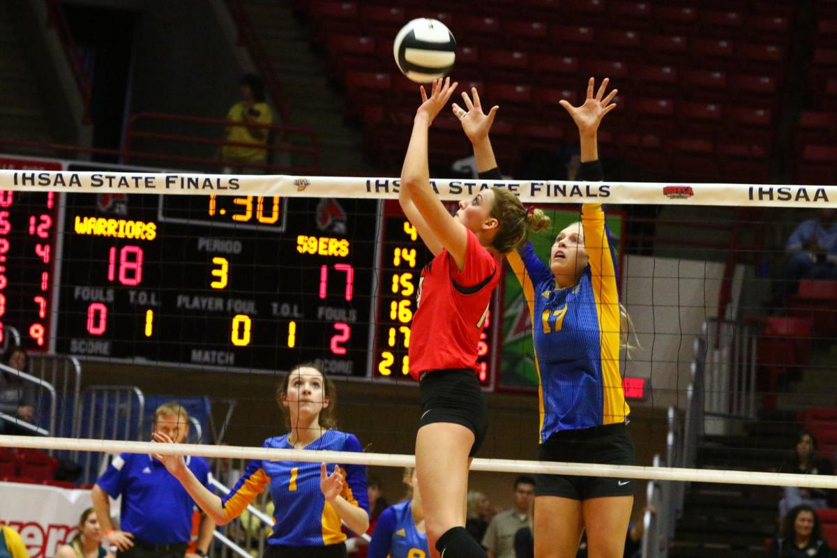 Volleyball Class 2A State Finals - Andrean vs. Christian Academy