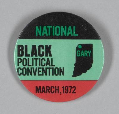 Black political Convention Pin