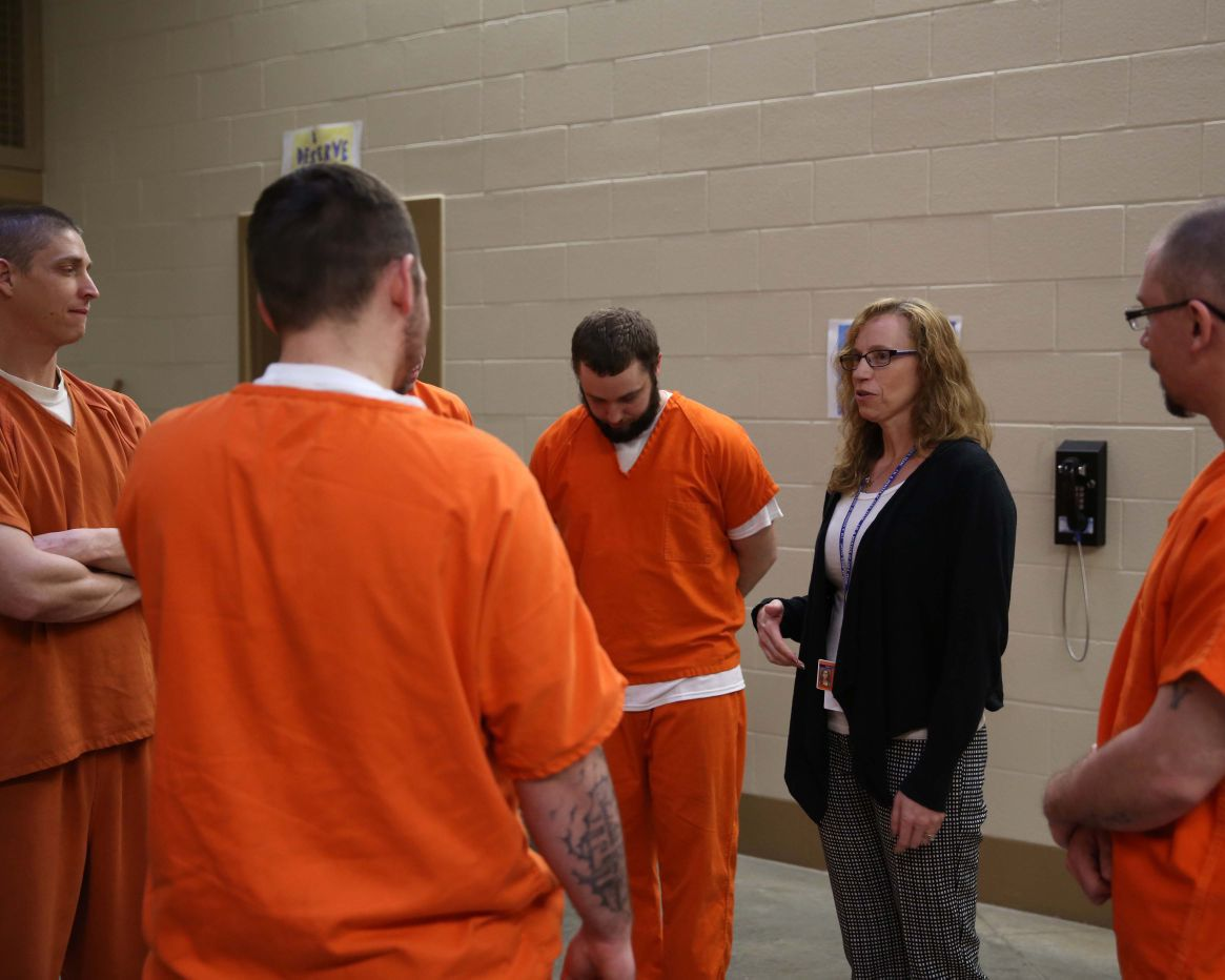 Drug-addicted NWI inmates 'pioneer' new approach to treatment