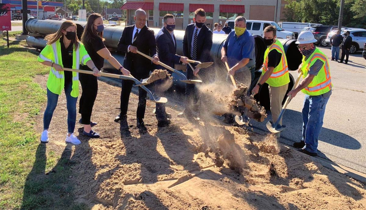 NWI Main Replacement Project Groundbreaking