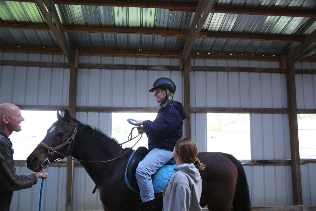 equine therapy for disabled people Therapeutic riding is used to achieve goals that enhance physical, emotional, social, cognitive, behavioral and educational skills for people with special needs we not only focus on riding skills but also the development of a relationship between horse and rider.