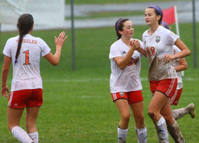 Wheeler vs. Bishop Noll in girls soccer sectional