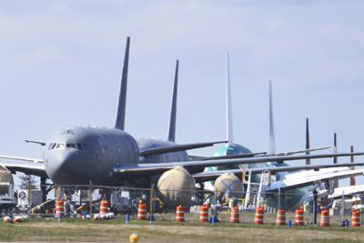 Virus Outbreak Boeing Planes