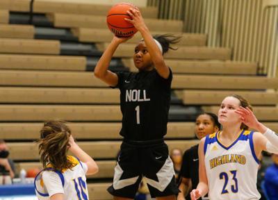 Bishop Noll at Highland girls basketball (136 points)