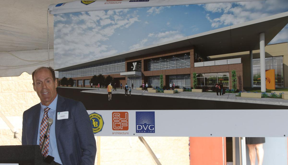 Groundbreaking for expansion of the Southlake YMCA