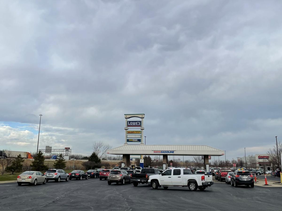 Gas at Costco