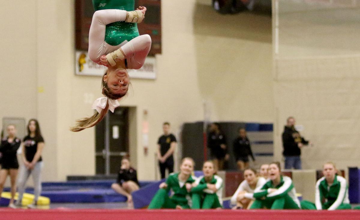Chesterton Sectional gymnastics
