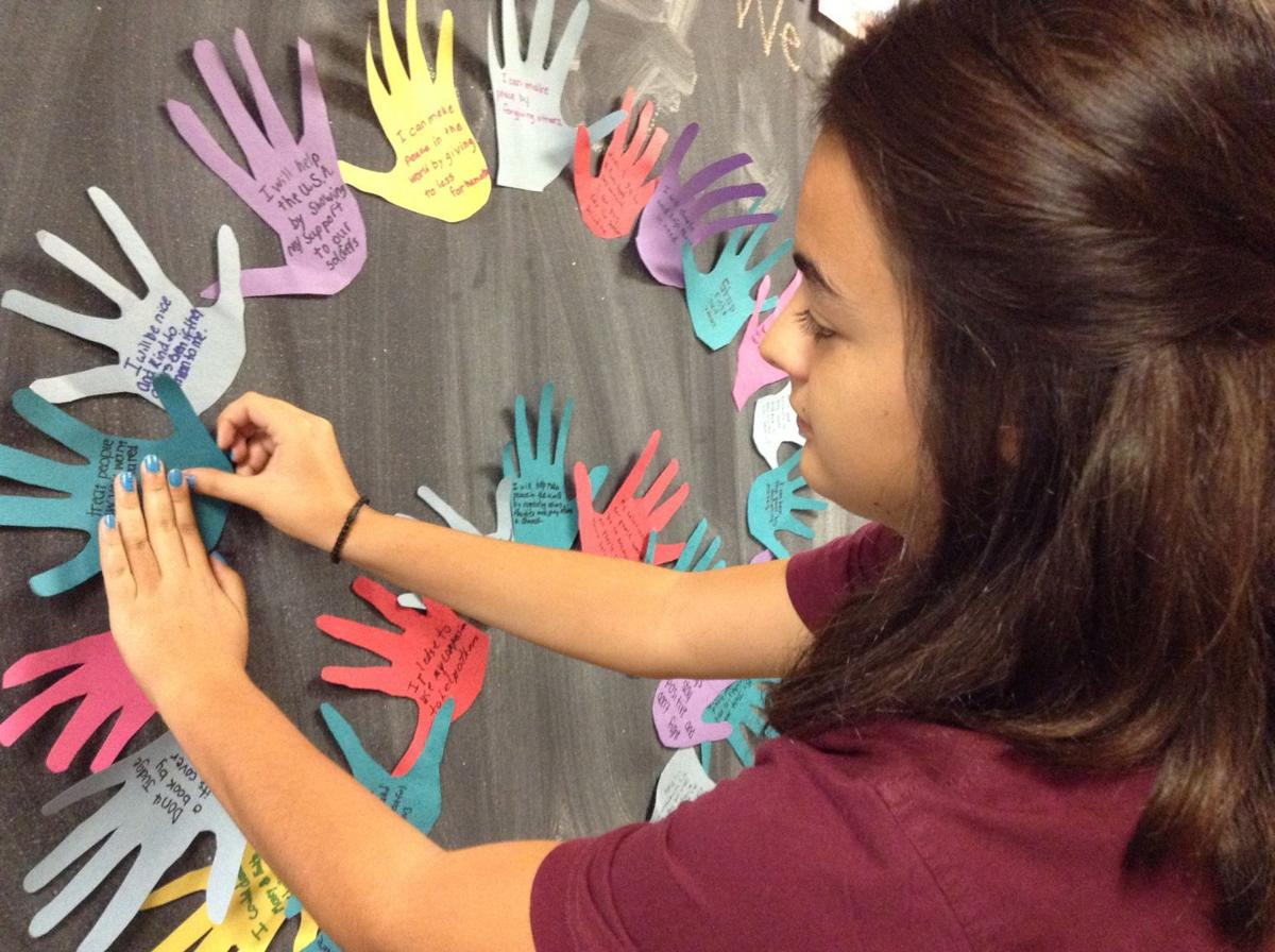 Forest Ridge students focus on International Peace Day