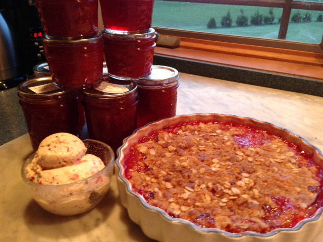 Lowell Cook Becky Stankowski's Cherry-Almond Crisp Recipe