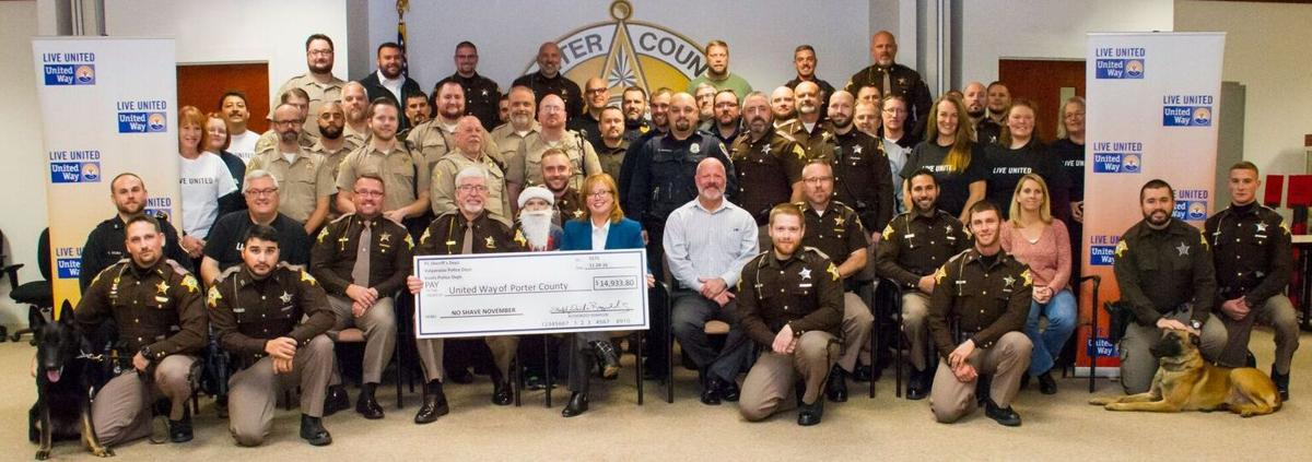 Porter County law enforcement No Shave November raises $15,000 to support community