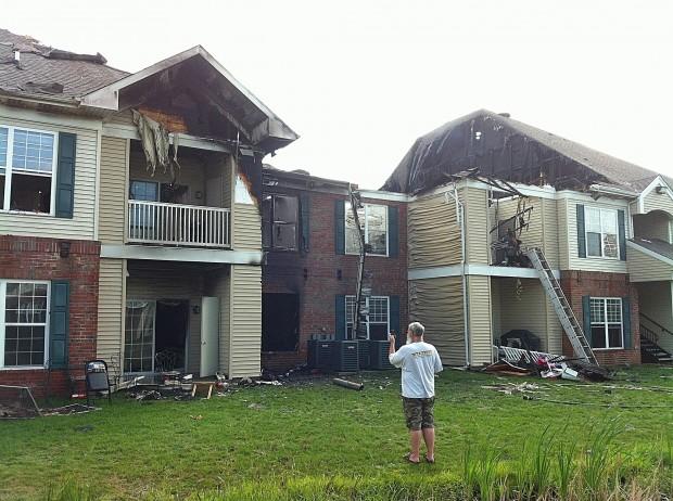 Westville Apartment Fire Destroys Units Displaces Families Michigan City News Nwitimes