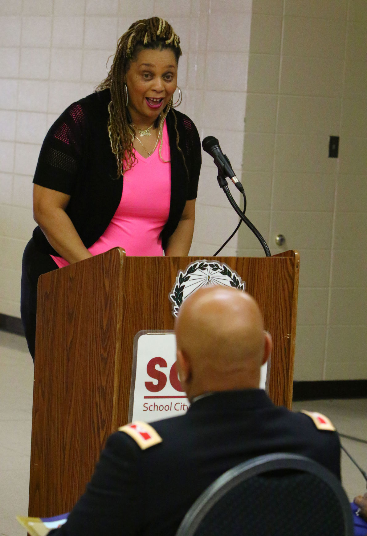 East Chicago Central JROTC press conference