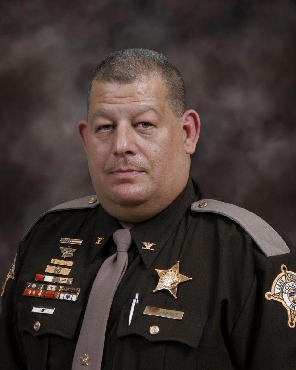 Lake County Police Commander Anthony Ramirez