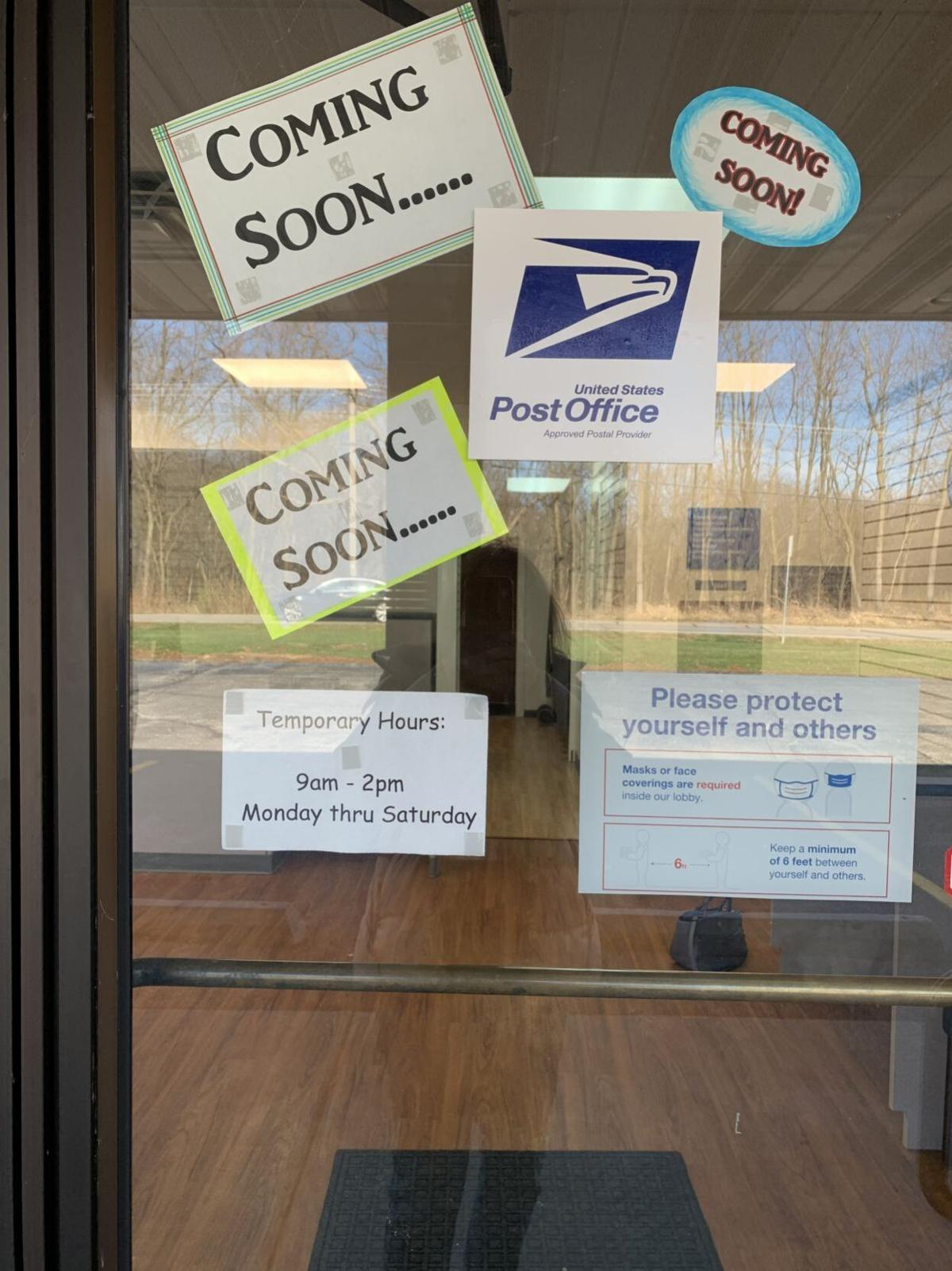 Winfield post office delayed