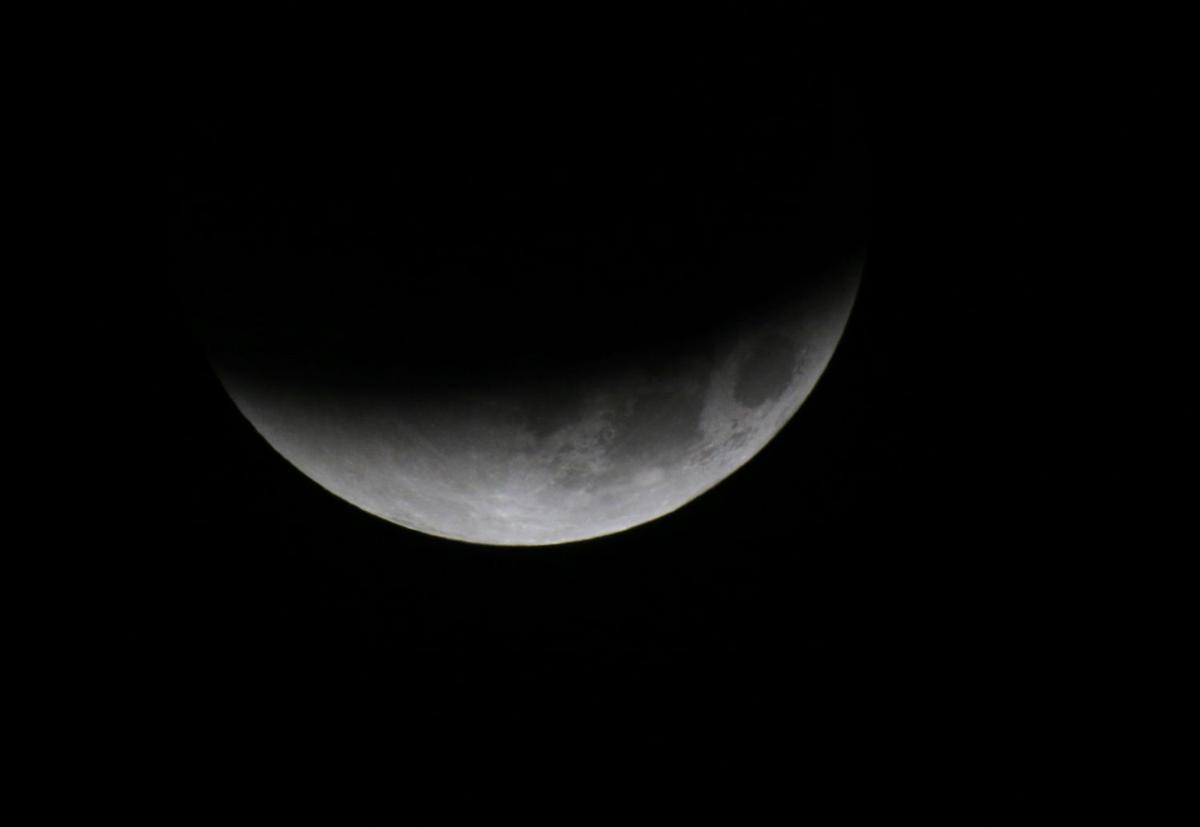 Belarus Supermoon Eclipse