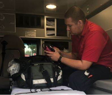 Local emergency workers responding to Hurricane Florence