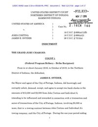 A look back at Portage Mayor James Snyder's court case since his