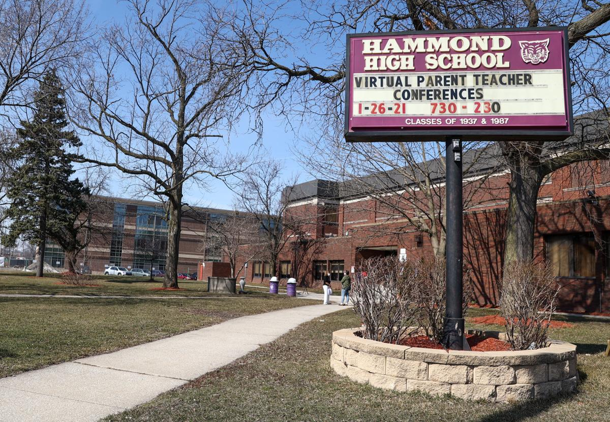 A look into Hammond High School before it is razed